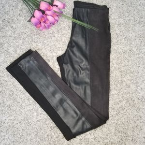 ZARA legging faux leather size: 26 black